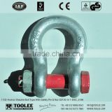 1103-Anchor Shackle Bolt Type With Safety Pin & Nut G2130 6-1
