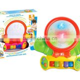 Baby Toys B/O Multi-function Musical Doll With Light&Drum&Organ
