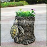 Tortoises resin planter, garden pot, outdoor planter                                                                                                         Supplier's Choice