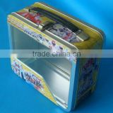 Tin Lunch Box with PET window