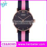 Minimalistic style white dial men watch custom logo branded watches for girls new design watch