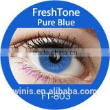 Top seller korea brand fresh tone natural look color contact lenses                                                                         Quality Choice