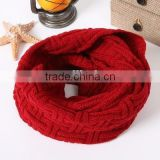 Ladies Women Knitted Crochet CircleTube Winter Scarf Neck Wrap Warmer Shawl