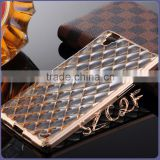 Wholesale Diamond Transparent Silicon mobile Phone Case For Oppo R7S