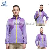 Quick Drying Hooded Sweatshirts Sports Wear Costumes Plain Slim Fit Hoodies For Sun Protection