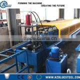 Steel Roof Gutter Roll Forming Machine, High Quality Metal Gutter Shaping Machine Downspouts Cold Roll Forming Machine