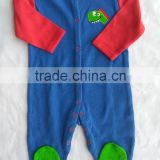 baby sleepsuit 2016 new design best quality 100% cotton interlock