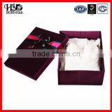 Factory Cheap high quality hard paperboard custom paper gift box for Apparel/clothing/garment box