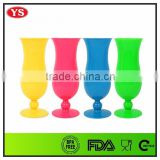 14 oz summer colored Hurricane Cocktail Glasses