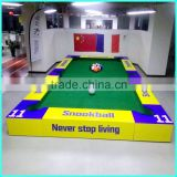 2016 new design CUZU snookball game, different forms of billiards that combine with football