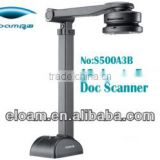 Portable scanner support ID card Identification, Fingerprint collection, Barcode recognition