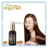 Private label moisturizing natural OEM macadamia hair care oil
