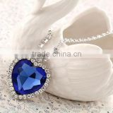MYLOVE The Heart of the Ocean necklace crystal Titanic jewelry 4*3.5CM MJ-53