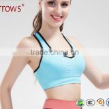 Sexy Fitness Women Sports Bra Gym Running Jogging Crop Top Tank Padded Underwear Tennis Vest Yoga Sports Bra