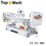 Medical 5 Function Electric Hospital Bed with X-Ray Examination Tray/Cama de hospital electrica de 5 funciones
