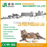Jinan dry cat/fish/dog food extruder making equipment for sale