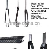 New arriving DIY Carbon bicycle front suspension fork Disc Brake from trade assurance supplier