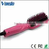 Salon line professional electric hair straightening comb