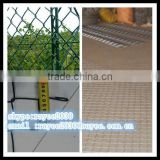 Fine Hot Dipped Galvanized Used Chain Link Fence for Sale Factory / por inmersion en caliente cerca de alambre galvanizado
