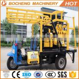 truck mounted drilling rig for sale/ water well rotary drilling machine/ deep well drilling equipment