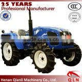 Henan Qianli Machinery very good diesel engine tractor QLN 50-65hp big agricultural wheeled tractor