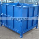 metal foldable cage pallets container