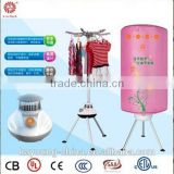 10KG capacity PTC heating clothes dryer / mini steam cloth dryer / electric clothes airer