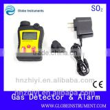 PGas-21 handheld sulfur dioxide warning alarm detector with 0-100ppm electrochemical sensor