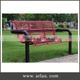 Arlau Cheap Modern Furniture,Outdoor Long Metal Garden Bench,Metal Tables And Chairs Garden