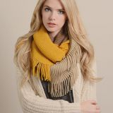 Fashion Soft Acrylic Jointed Infinity Circle Loop Scarf Wrap Factory