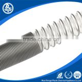 PVC Plastic Spiral Steel Wire reinforced Flexible Agricultural Water Irrigation Hose Pipe