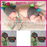 Fashion Baby Photo Props Crochet Dinosaur Shape High Quality New Born Baby Toddler Clothing