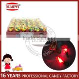 Fruit Flavor Lighting Diamond Ring Shaped Toy Tablet Candy