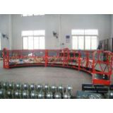 OEM Steel Red Arc High Working Powered Suspended Platform Cradle for Building Decoration