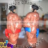 Latest Japanese sumo match inflatable Sumo costume for adult