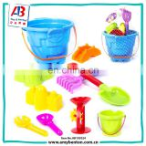Colorful Kids sand toy beach set with sand pail