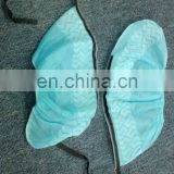 Disposable nonwoven anti-static shoe cover