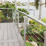 High Quality Stainless Steel Balcony Cable Railing / Wire Railing / Wire Fence with Stainless Steel Wire