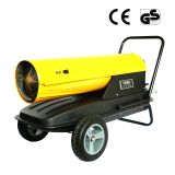 Portable or mobile design diesel oil heating gun