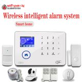 WIFI GSM Alarm System With 8 Kind of language TFT Touch Screen 3G Security alarm Android IOS App support WIFI IP Camera