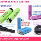 Lithium ion Battery,Li-ion Rechargeable battery -18650-SDI,LG,Panasonic