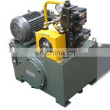 High Quality hydraulic high pressure control modular hydraulic power pack units