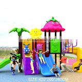 Outdoor Kindergarten Small Plastic Children Playground kids playground plastic slides