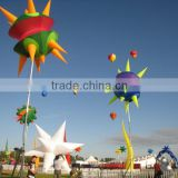 2016 big supplier of inflatable star for night club party festival music stage decoration