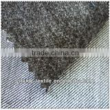 Top quality brushed cotton knitted denim fabric