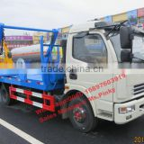 Promotion Sales 6Tons Container Garbage Truck Dongfeng Swing Arm Garbage Vehicles Whatsapp 0086 15897603919