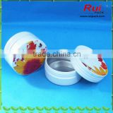 Empty aluminum screw jar for sale,cosmetic/hand cream/hair wax aluminum jar container