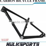MTB Carbon Frame 27.5 Carbon MTB Bicycle Frame Bicycle Parts Mountain Bicycle Mountain Bike Carbon Fiber Bicycle Frame