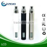 Multi-function LCD battery electronic cigarette for herb vapor