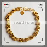 Fresh Design Wholesale 2015 Charm Stone Bangle 18k gold jewelry                                                                         Quality Choice